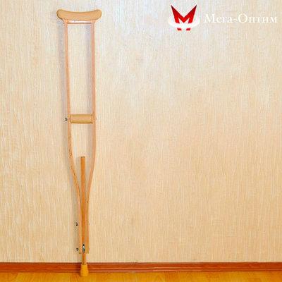 Костыли  деревянные  Мега-Оптим 02-КИ с УПС  взрослые