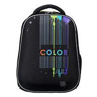Рюкзак каркасный, Hatber, Ergonomic light ,38 х 29 х 15, EVA-материал, с термосумкой, Color art