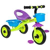 Велосипед трехколесный Micio Antic, цвет салатовый/фиолетовый/синий