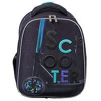 Рюкзак каркасный, Hatber, Ergonomic Plus, 38 х 29 х 16, с термосумкой, 'Скутер'