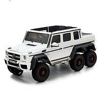 Электромобиль MERCEDES-BENZ G63 AMG 6x6, 6WD полный привод, цвет белый, EVA