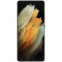 Смартфон Samsung Galaxy S21 Ultra SM-G998B, 6.8', DAmoled, 12Гб, 256Гб, 108Мп, серебр.