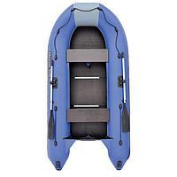Лодка 'Муссон 3200 СК', слань+киль, цвет серый/синий
