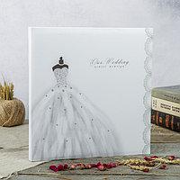 Фотоальбом магнитный 30 листов 'Свадебный альбом-1' 31,5x32,5 см