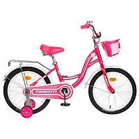 Велосипед 18' Graffiti Premium Girl, цвет розовый/белый