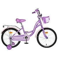 Велосипед 18' Graffiti Premium Girl, цвет сиреневый/розовый
