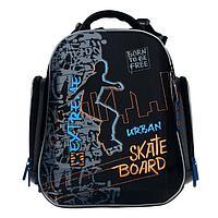 Рюкзак каркасный, Hummingbird TK, 37 х 26 х 18 см, 3D нашивка, 'Скейт'
