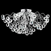 Светильник потолочный 87707/6 G9 40Вт серебро 30х30х15 см