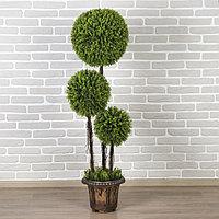 Дерево искусственное 'Три шара' мелкий лист 150 см