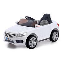 Электромобиль S CLASS, 2 мотора, EVA колёса, активная подвеска, кожаное сиденье, цвет белый