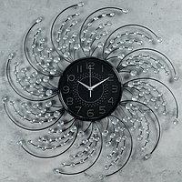 Часы настенные, серия Ажур, 'Дамари', d69 см
