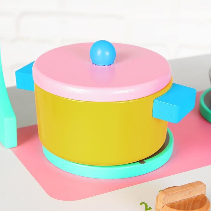 Игровой набор 'Учимся готовить', посудка в наборе - фото 3