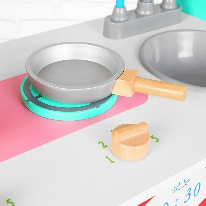 Игровой набор 'Учимся готовить', посудка в наборе - фото 5