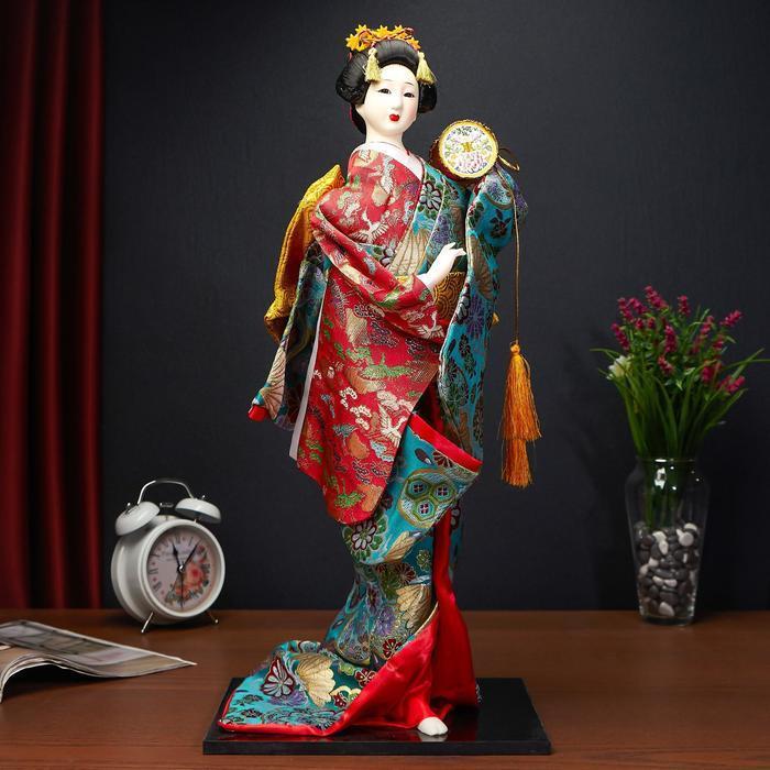 Кукла коллекционная 'Японская танцовщица', МИКС - фото 1