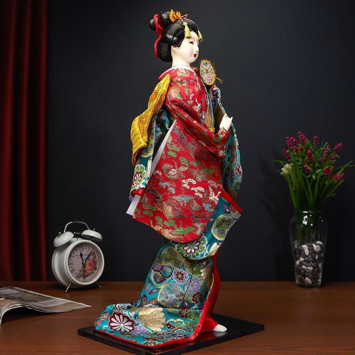 Кукла коллекционная 'Японская танцовщица', МИКС - фото 2