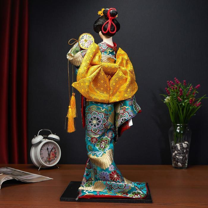 Кукла коллекционная 'Японская танцовщица', МИКС - фото 4