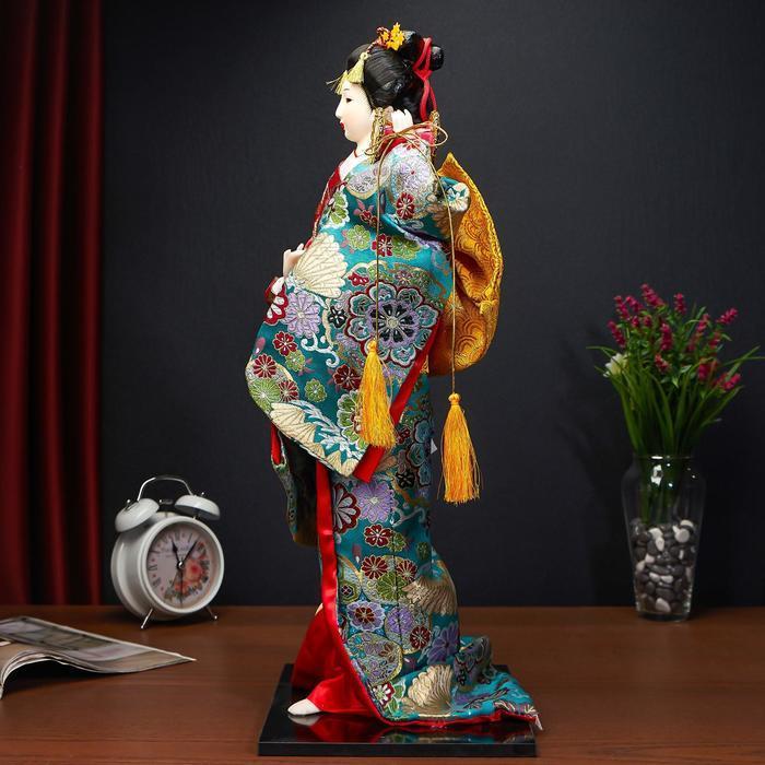 Кукла коллекционная 'Японская танцовщица', МИКС - фото 5