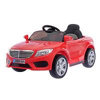 Электромобиль S CLASS, 2 мотора, EVA колёса, активная подвеска, кожаное сидение, цвет красный