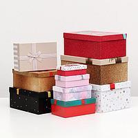 Набор коробок 10 в 1 'Банты', 30,5 х 20 х 13 - 12 х 6,5 х 4 см