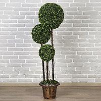 Дерево искусственное 'Три шара' крупный лист 150 см