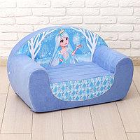 Мягкая игрушка-диван 'Снежная принцесса'
