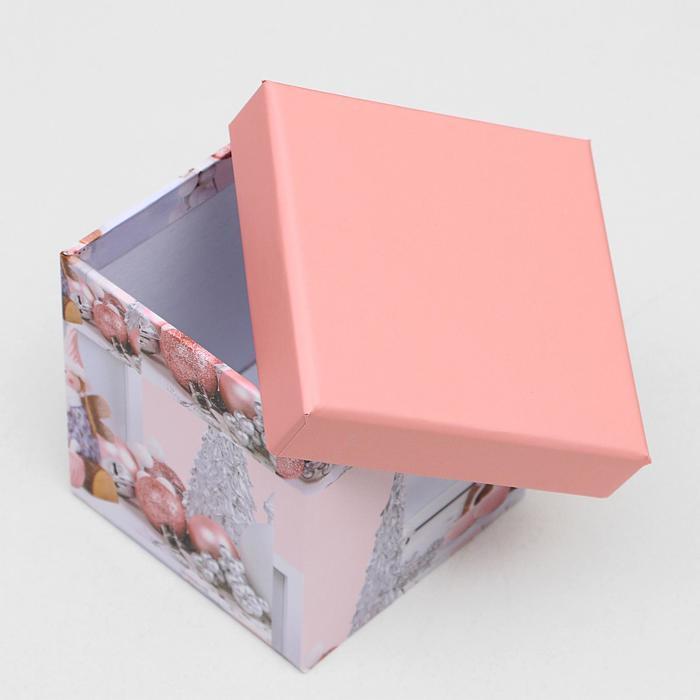 Набор коробок 10 в 1 квадратный, 26,5 х 26,5 - 8,5 х 8,5 см - фото 3