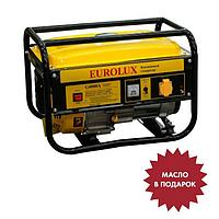Электрогенератор Eurolux G4000A, бенз., 3.3 кВт, 220 В, 7 л.с., 15 л, ручной старт МАСЛО