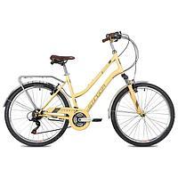 Велосипед 26' Stinger Victoria, цвет бежевый, размер 15'