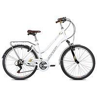 Велосипед 26' Stinger Victoria, цвет белый, размер 15'