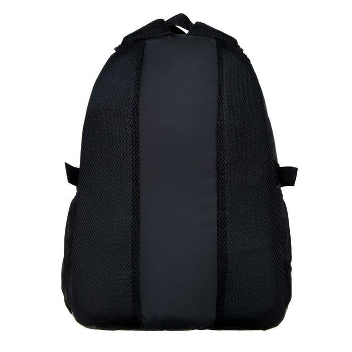 Рюкзак молодежный эргоном. мягкая спинка Calligrata 43х31х17 см 'Треш', бел/чёрн/коричн - фото 5