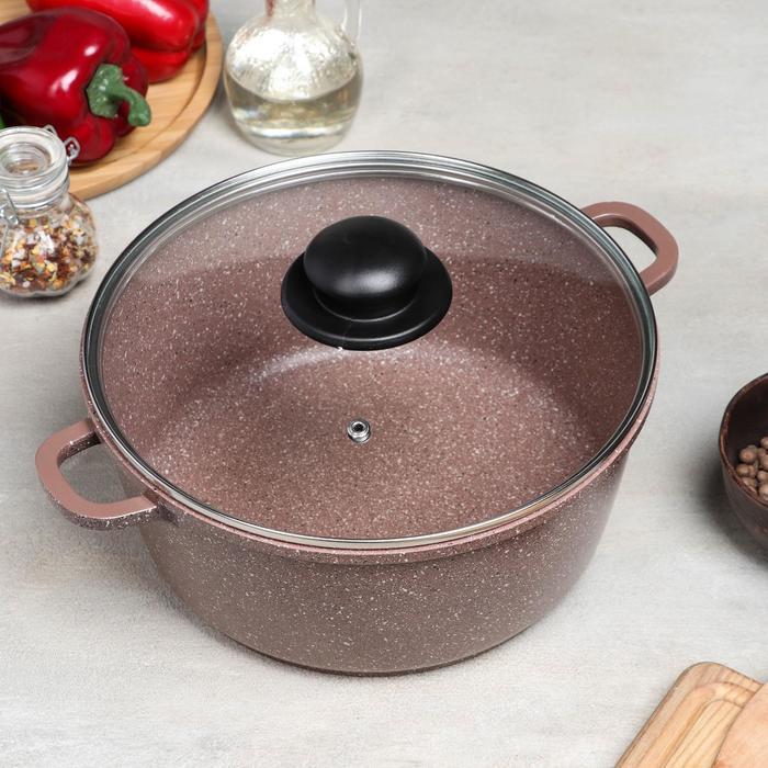 Набор посуды Casta Lovil, 2 предмета сковорода d24 см, кастрюля 4 л - фото 2