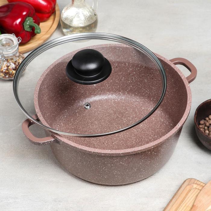 Набор посуды Casta Lovil, 2 предмета сковорода d24 см, кастрюля 4 л - фото 3