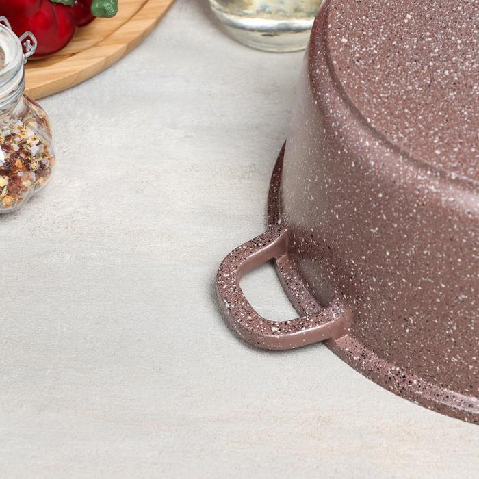 Набор посуды Casta Lovil, 2 предмета сковорода d24 см, кастрюля 4 л - фото 4