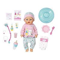 Кукла интерактивная Baby born 'Чистим зубки' с аксессуарами, 43 см 827-086
