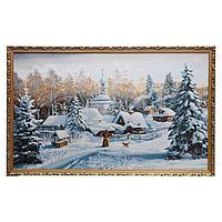 Гобеленовая картина 'Крещение' 130х75 см