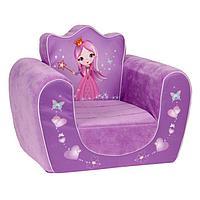 Мягкая игрушка 'Кресло Принцесса', цвета МИКС