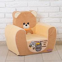 Мягкая игрушка 'Кресло Медвежонок', цвета МИКС