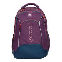 Рюкзак школьный, Kite 813, 40 х 28 х 16 см, эргономичная спинка, фиолетовый