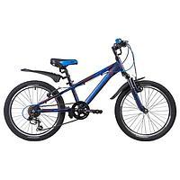 Велосипед 20' Novatrack Lumen, 2019, цвет синий
