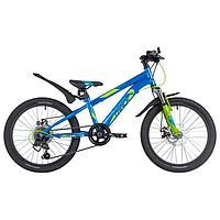 Велосипед 20' Novatrack Pointer, 2021, цвет синий