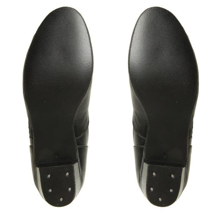 Туфли народные женские, длина по стельке 22 см, цвет чёрный - фото 4