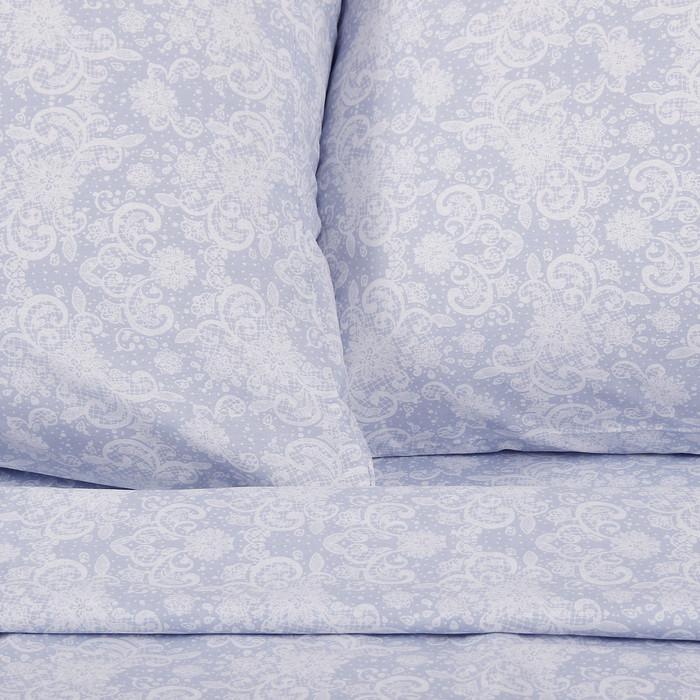 Постельное бельё 'Этель' дуэт Иней, размер 143х215 см - 2 шт., 240*220 см, 70х70 см - 2 шт - фото 3