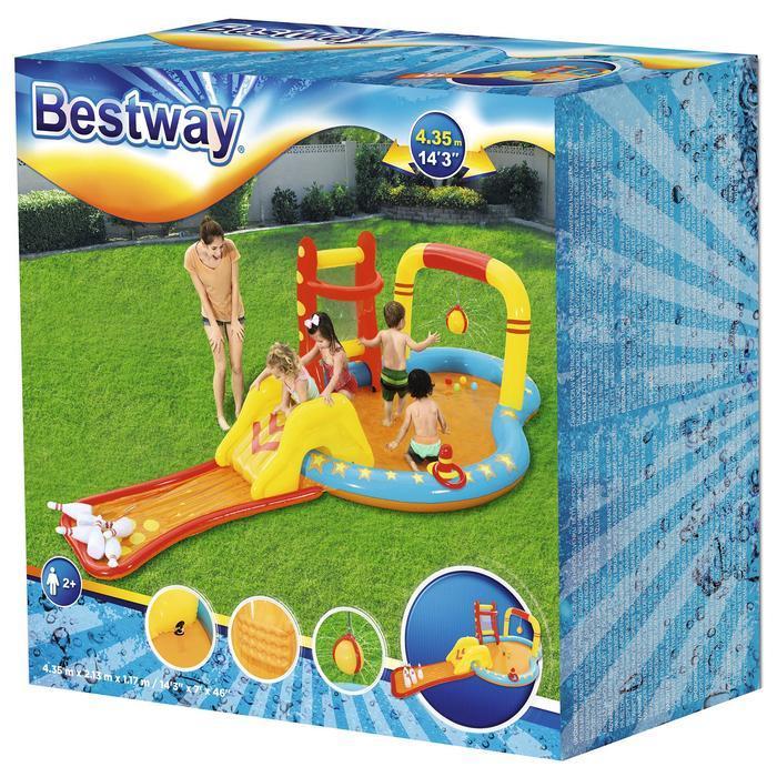 Игровой центр 'Боулинг', с игрушками, 435 х 213 х 117 см, 314 л., от 2 лет, 53068 Bestway - фото 6