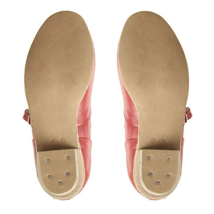 Туфли народные женские, длина по стельке 18,5 см, цвет красный - фото 4