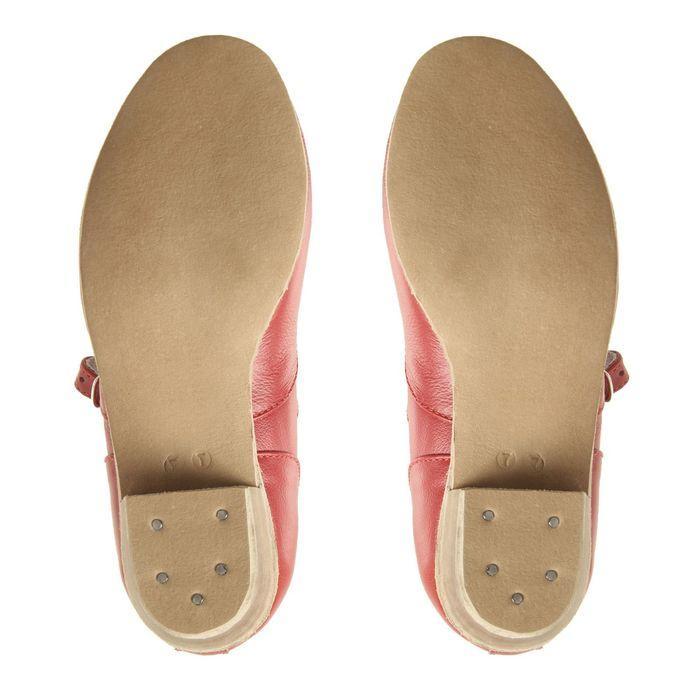 Туфли народные женские, длина по стельке 22 см, цвет красный - фото 4