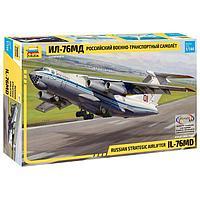 Сборная модель 'Российский военно-транспортный самолёт Ил-76МД'