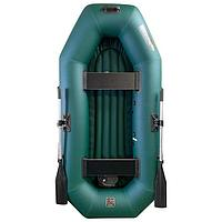 Лодка 'Мурена 250У НД' надувное дно, цвет олива