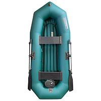 Лодка 'Мурена 260У НД', надувное дно, цвет олива