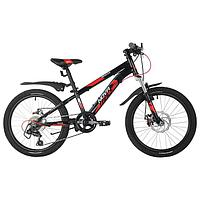 Велосипед 20' Novatrack Extreme, 2021, цвет черный