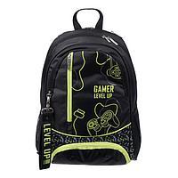 Рюкзак школьный, Hatber, Sreet, 42 х 29 х 12 см, эргономичная спинка, отделение для ноутбука, Gamer